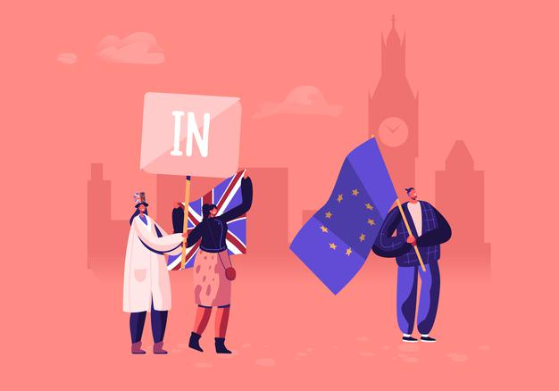 CONSULTING CENTRALE BREXIT FLAGS